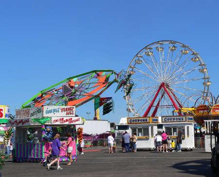 fair play: County Fair Stock Photo