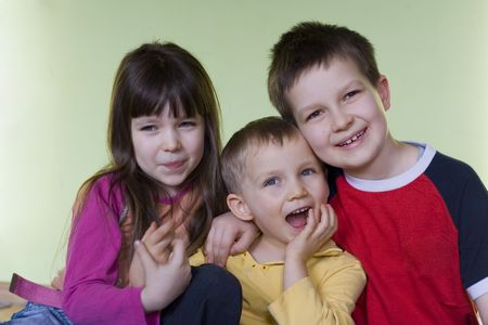 children at home Stock Photo - 629815