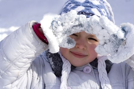 hearted: winter girl