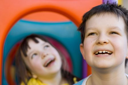 smiling kids Stock Photo - 643336