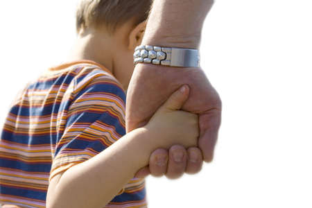 ni�os ayudando: ni�o con padre
