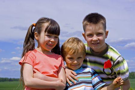 happy kids Stock Photo - 695849