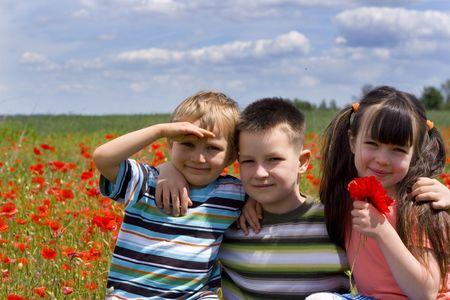 happy children Stock Photo - 695923