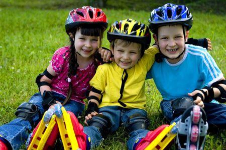 Happy children Stock Photo - 695866
