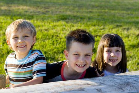 smiling kids Stock Photo - 714206
