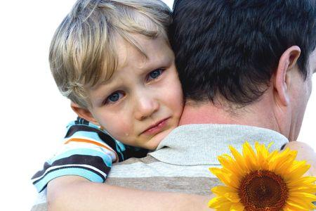 crying boy: muchacho gritador