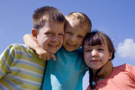 Happy children Stock Photo - 714427