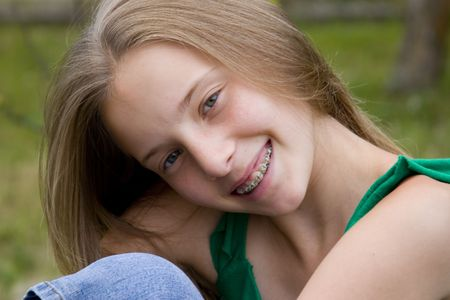 beauty girl Stock Photo - 720879