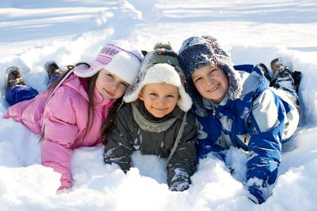 niños felices Foto de archivo - 760801