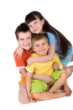 children in studio Stock Photo - 870657