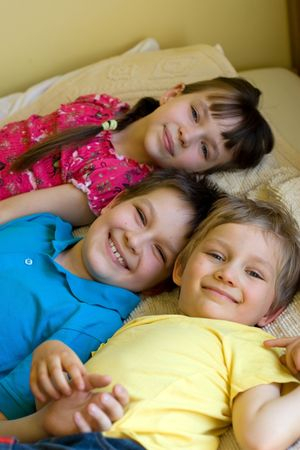 children at home Stock Photo - 870690