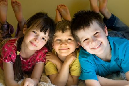 hearted: kids at home