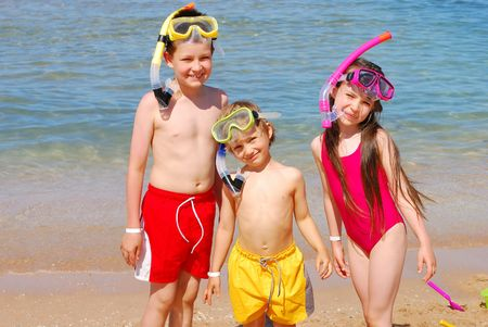 Summertime fun Stock Photo