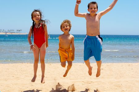activity holiday: jumping kids