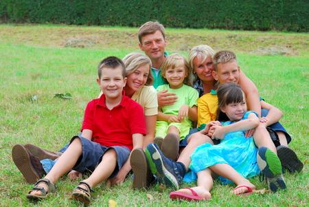 Happy family Stock Photo - 1598912