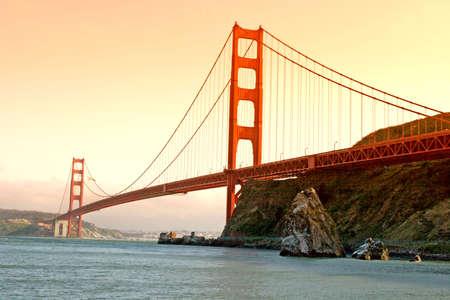 san francisco golden gate bridge: San Francisco Golden Gate Bridge Stock Photo
