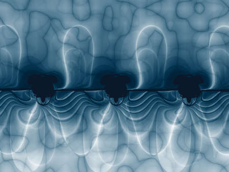 harmonic: Fractal image, electric power vision in harmonic sequence Stock Photo