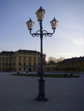 lampe: lampe in a yard