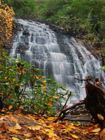 Spoonauger Falls South Carolina Stock Photo