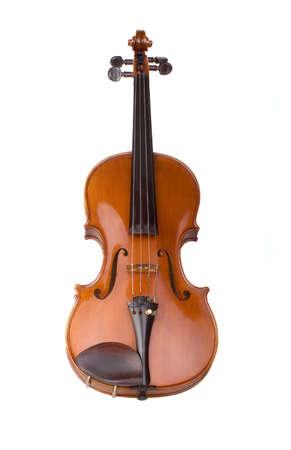 violine sur le fond blanc