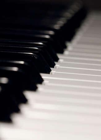 acoustically: electro piano keyboard with shallow DOF Stock Photo