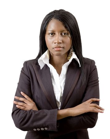 This is an image of a confident business woman. This image can be used to represent Successful Business etc..