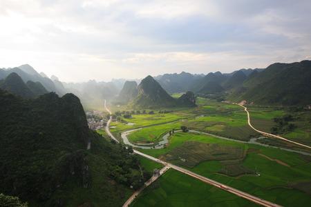 pastoral: Masan pastoral scenery