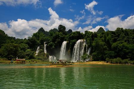 Waterfall at Daxin, Guangxi