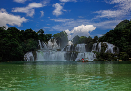 transnational: Detian transnational waterfalls Stock Photo