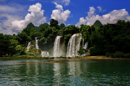transnational: Detian transnational waterfalls Stock Photo