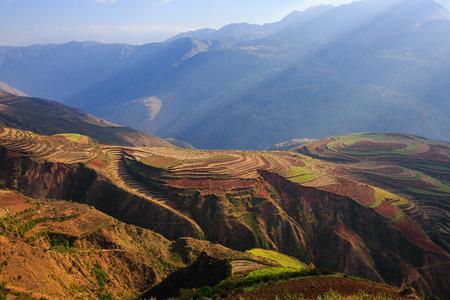 yunnan: Dongchuan Red Land at Yunnan province