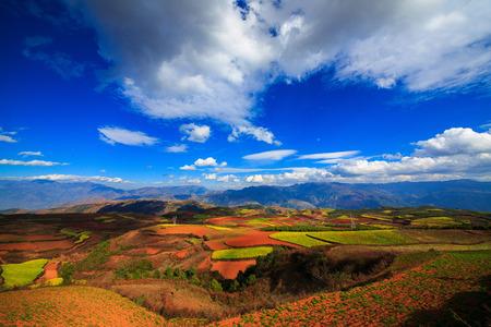kunming: Natural scenery of Kunming in Yunnan, China
