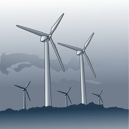 windy energy: Windmills
