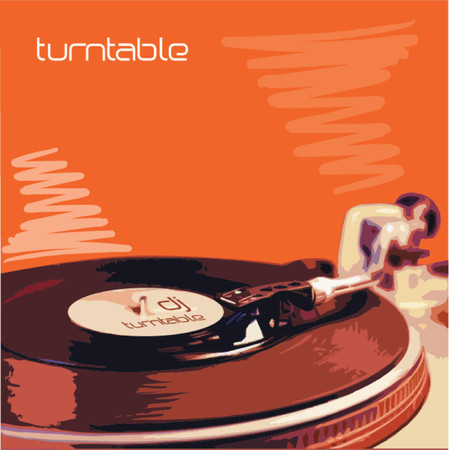 Turntable Stock Vector - 469724