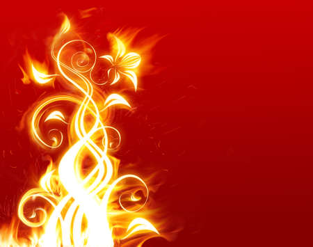 dangerous love: Fiore ardente