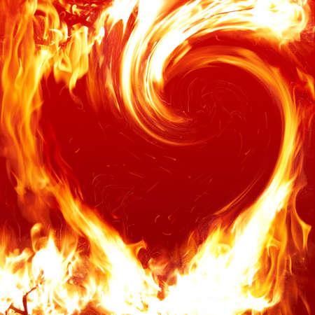 hell fire: Blazing heart