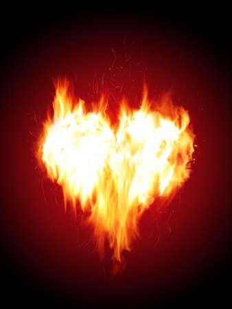 raging: Blazing heart