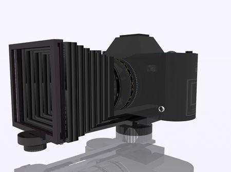 metalized: Camera Stock Photo