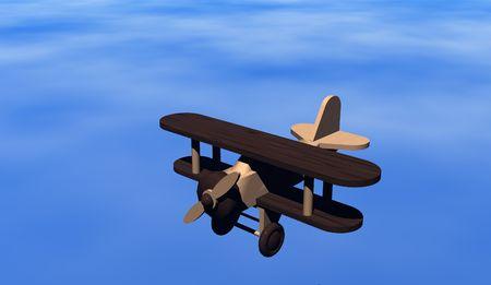Wooden plane photo