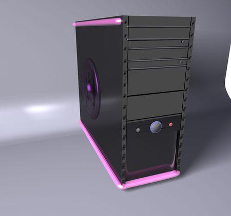 Pink Computer Stock Photo - 4560715