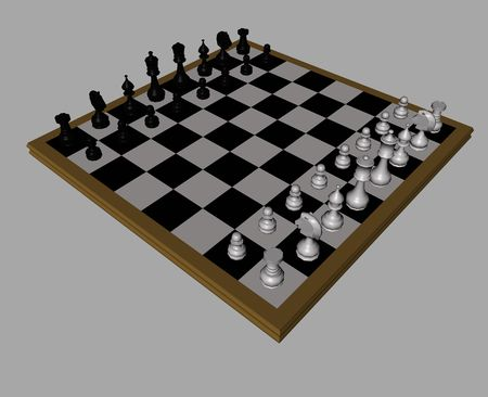 3D Chess photo