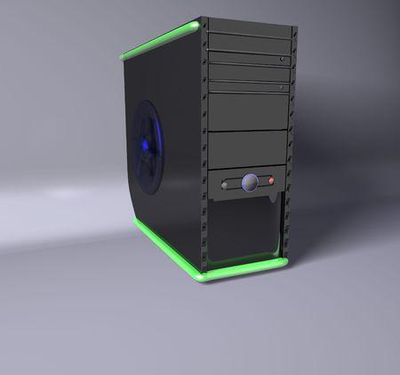 3D Computer Stock Photo - 4601522