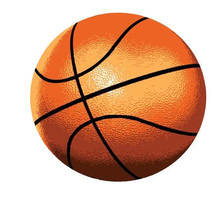 Palla da basket Archivio Fotografico - 4718047