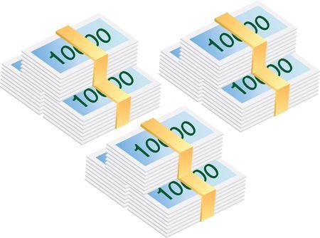 valuables: Money Stock Photo