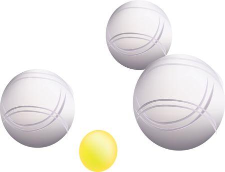 Petanque ballen