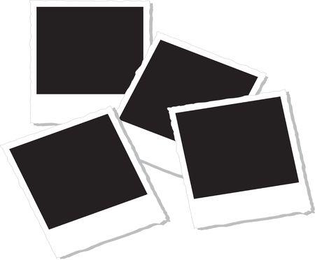 Polaroid Films Stockfoto