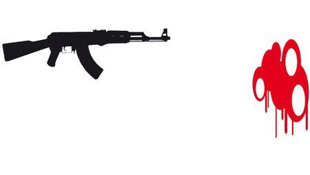 bb gun: Gun murder Stock Photo