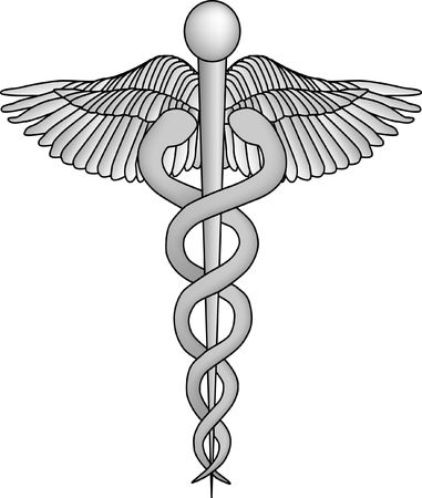 caduceo: Caduceus médico Símbolo