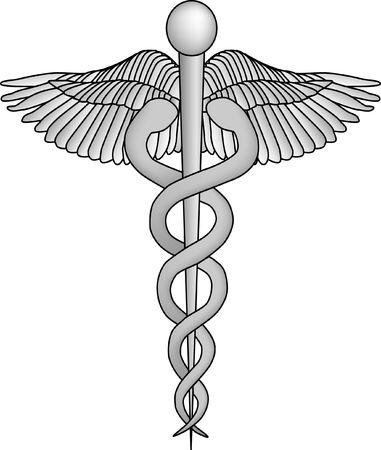 Medische Caduceus Symbol