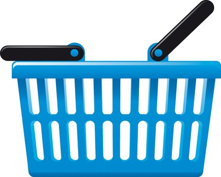 collects: Shopping Basket Stock Photo